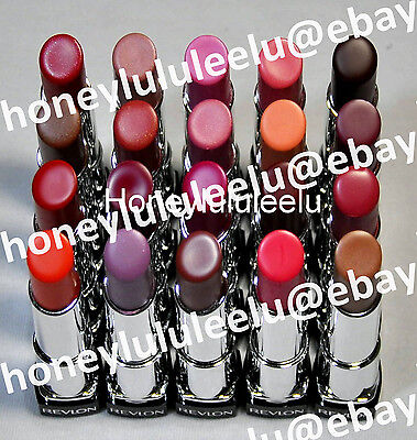 Revlon COLORBURST LIP BUTTER Choose from 20 Colors Lipstick Balm Gloss New Seal