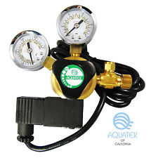 **NEW** Premium AQUATEK CO2 Regulator with Integrated COOL TOUCH Solenoid