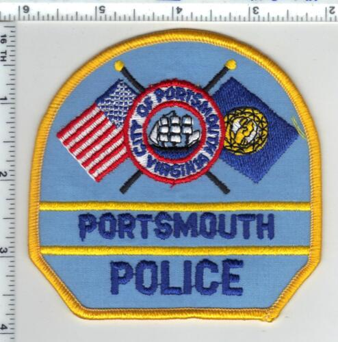 Portsmouth Police (Virginia) 2nd Issue Shoulder Patch