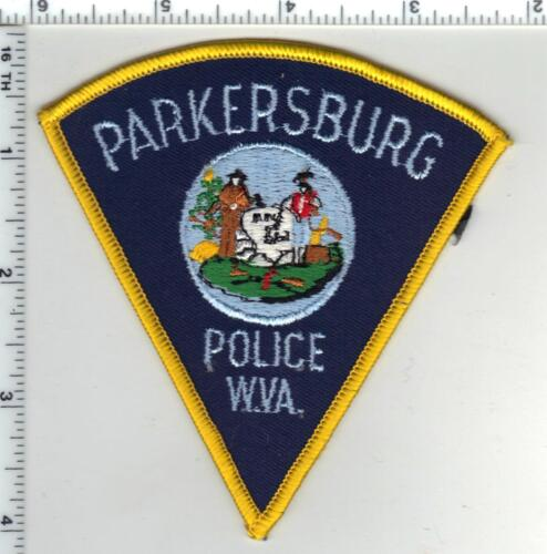 Parkersburg Police (West Virginia) 3rd Issue Shoulder Patch