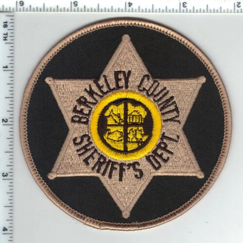 Berkeley County Sheriff Dept. (South Carolina) Shoulder Patch 1980