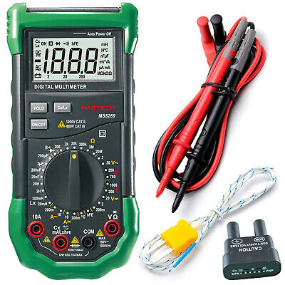 Mastech Ms8269 31-range Digital Lcr With Full Featured Multimeter High Accuracy
