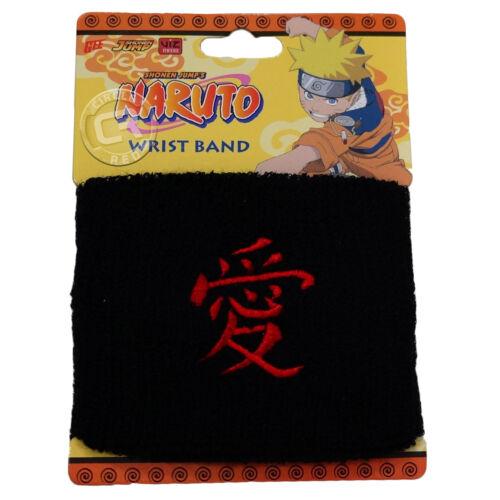 Naruto Gaara Symbol Love Kanji Wristband Sweatband New Official Licensed New Tag