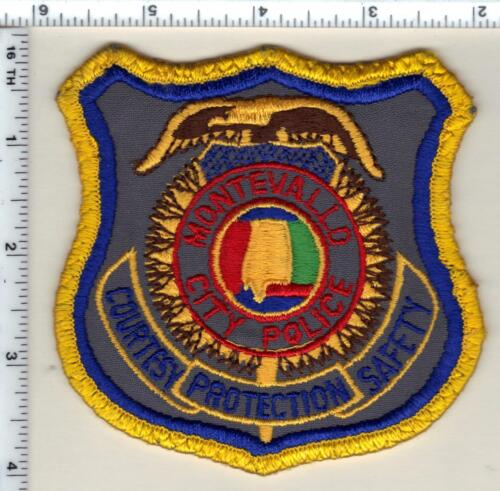 Montevallo City Police (Alabama) Shoulder Patch - uniform take-off from 1989