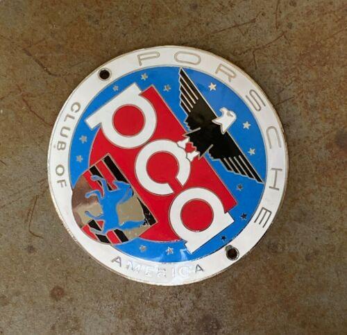 Vintage PORSCHE Club of America PCA Grille Badge Plakette - 356, 911, 912, 914
