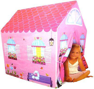 Girls Childrens Pink Princess Play Wendy House Outdoor Garden Tent Kids Fairy