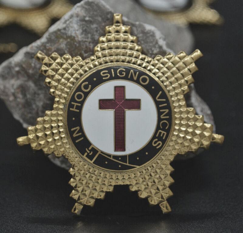 Masonic Lapel Pins Badge Mason Freemason B71 Gold Badge Order of the Red Cross