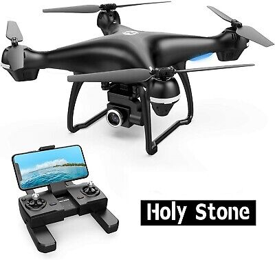 Holy Stone RC Drone HS100 with 2K HD Camera Tap Fly GPS FPV Quadcopter Follow Me