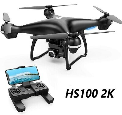 Holy Stone HS100 GPS Drone with 2K HD Wifi Camera FPV 2.4G RC Quadcopter Tap Fly