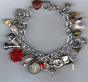 Altered Art Charm Bracelet
