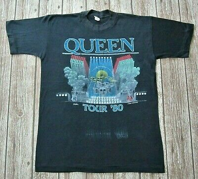 QUEEN : Vintage 1980 The Game UK Tour Concert T-Shirt Freddie Mercury segunda mano  Embacar hacia Spain