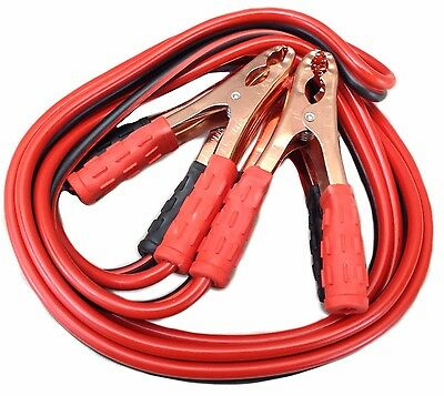 Heavy Duty No Tangle Battery Booster Jumper cables with FREE travel case ()