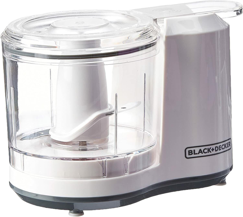 BLACK+DECKER 1.5-Cup Electric Food Chopper, Improved Assembl