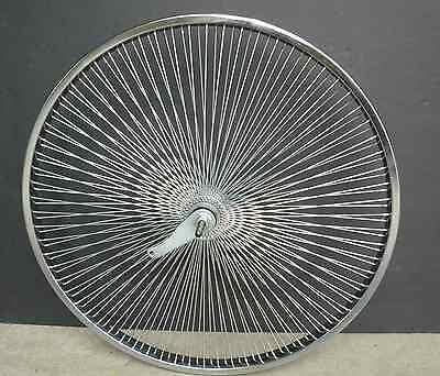 """Beach Cruiser Bike 26"""" Rear Rims140 spokes wheels Chrome"""