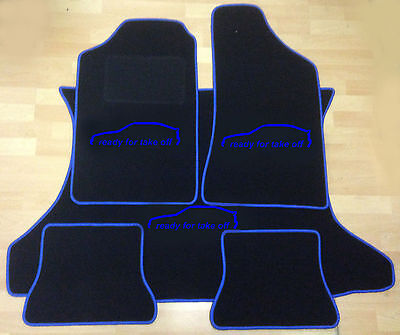 Velours Fußmatten Set für VW CORRADO 53i 88-95 4-teilig Matten Autoteppiche
