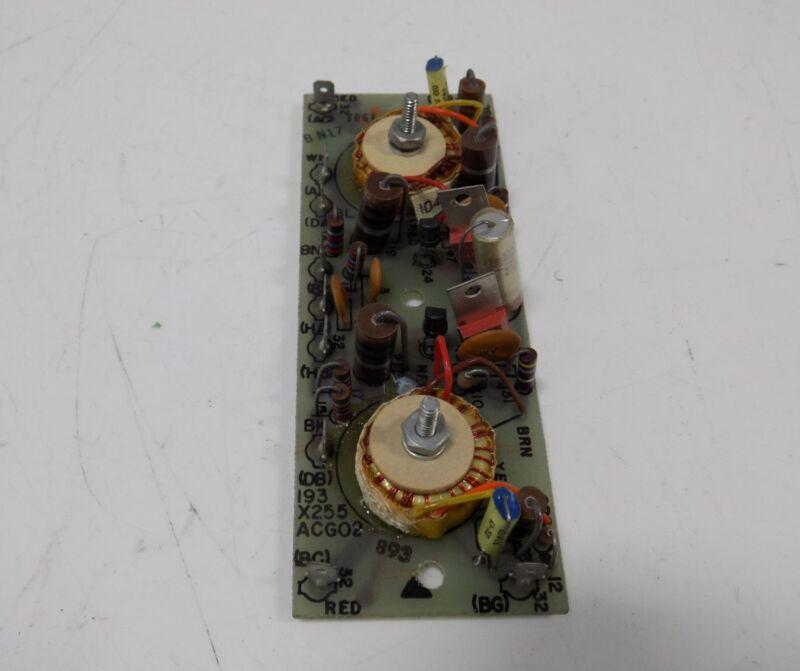 GENERAL ELECTRIC PULSE TRANSFORMER BOARD 942B584AB-A