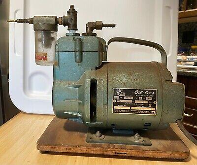 Vintage Oil-less Vacuum Pump Bell Gossett