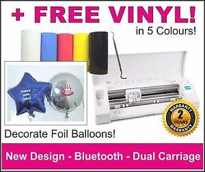 Decorate Foil Balloons. Silhouette Cameo Vinyl Cutting Machine, Plotter, Cutter