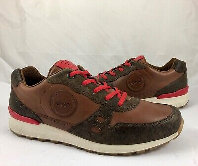 ECCO Women's 9 9.5 40 CS14 Retro Leather Casual Sneakers Shoes Brown Reg $160