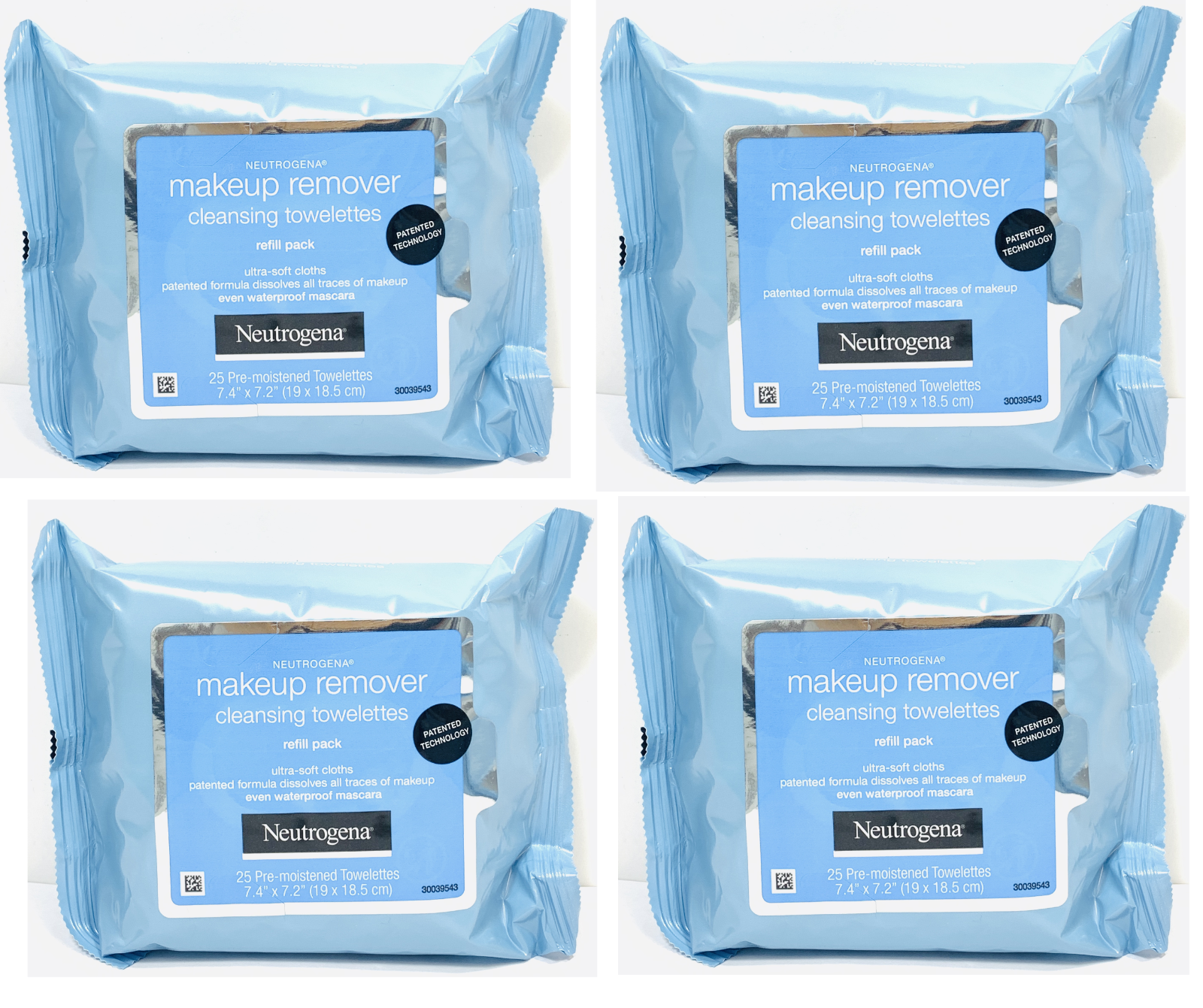 Neutrogena Makeup Remover Facial Towelettes Wipes 20, 25, 50