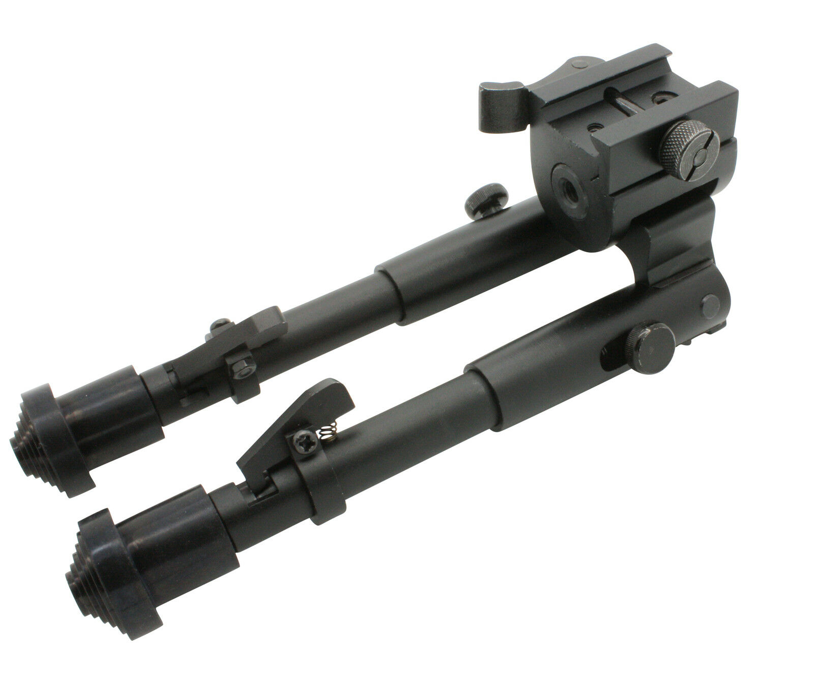 Tactical Rifle Bipod Button Lock 7 5 to 9 Adjustable QD Picatinny Rail Mount | eBay