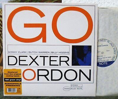 BLUE NOTE  Dexter Gordon - Go!  180 gram audiophile LP  UK 1997