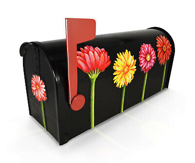 Set of Colorful Gerbera Daisy Magnetic Flowers for Mailbox Summer Daisy Decor Colors Of Gerbera Daisies