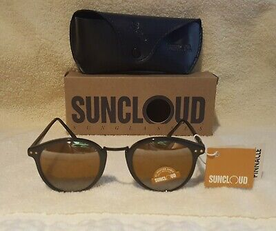 VINTAGE SUNCLOUD ST. MORITZ SUNGLASSES-BAUSCH & LOMB ALL WEATHER AMBER (Sunclouds Sunglasses)