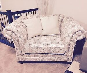 Beautiful Oversized Chair and a Half