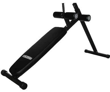 New V2 Adjustable Ab Sit Up Bench, Long Frame - Great for Core