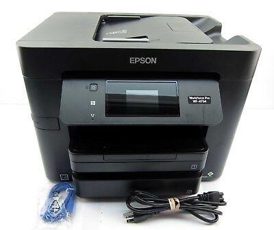 Epson WorkForce Pro WF-4734 Wireless Color Inkjet Printer, Copier, Scanner & Fax