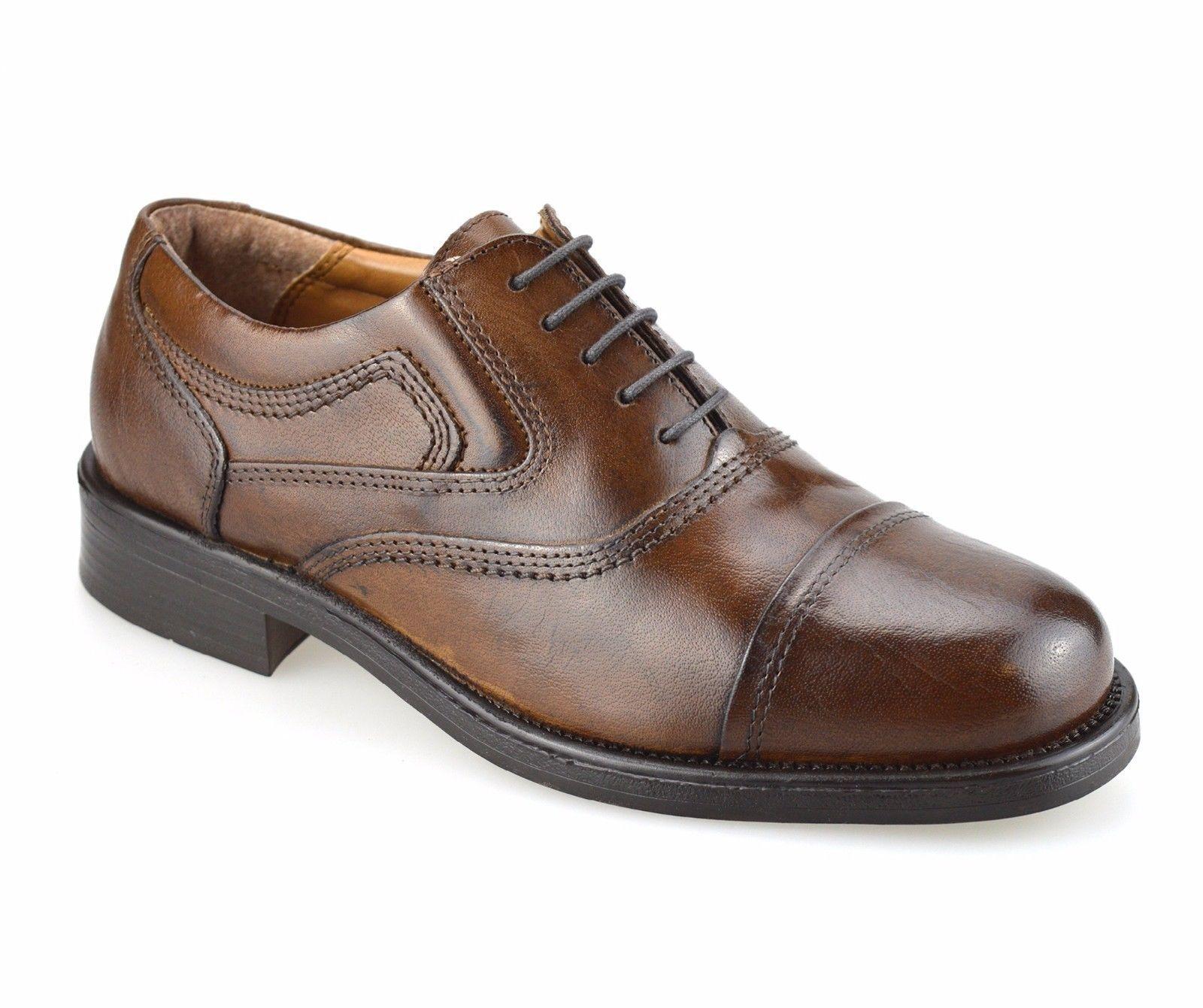 Herren Halbschuhe Schuhe Leder 1485-6 Außen Slipper Freizeitschuhe 41-47