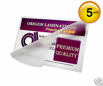 500 Hot 5 Mil 3x5 Laminating Pouches 3 X 5 Small Index Card Clear