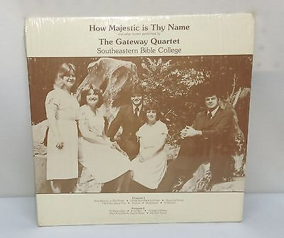 The Gateway Quartet Southeastern Bible College Birmingham 1980 Summer Tour Lp