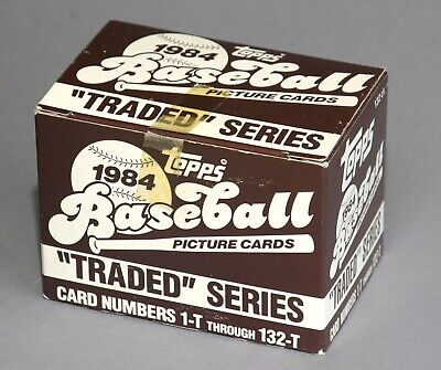 1984 TOPPS TRADED TEAM SETS - U Pick LOW PRICES YANKEES METS GOODEN ROOKIES ++