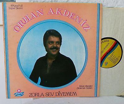 ORHAN AKDENIZ - Zorla Sev Dyemen    Akdeniz Plak   LP     Turkey