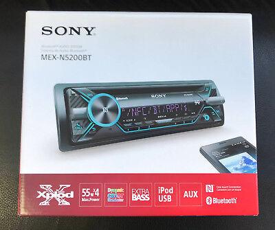 SONY MEX-N5200BT CD MP3 Aux Usb Bluetooth iPod iPhone Android NFC Remote 220watt segunda mano  Embacar hacia Argentina