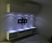 new and in stock, stylish FLOATING entertainment units and CUPBOARDS Cecil Hills Liverpool Area Preview