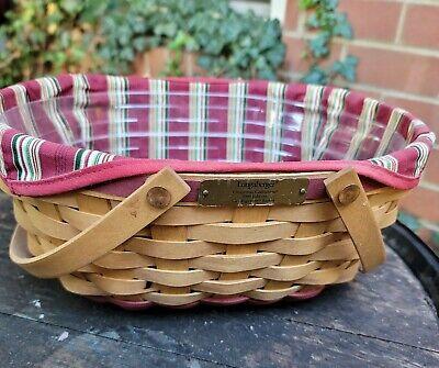 LONGABERGER 2004 Christmas Collection Get Together Basket baskets