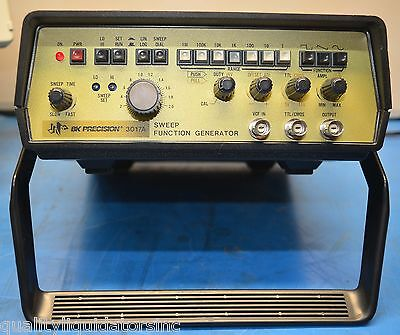 Bk Precision Sweep Function Generator 3017a