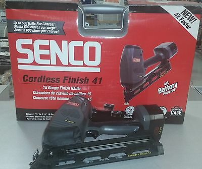 Senco Cordless Finish Nailer 41
