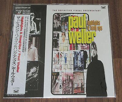 More listed! PROMO! SEALED! PAUL WELLER Japan music LASERDISC Highlights & Hang
