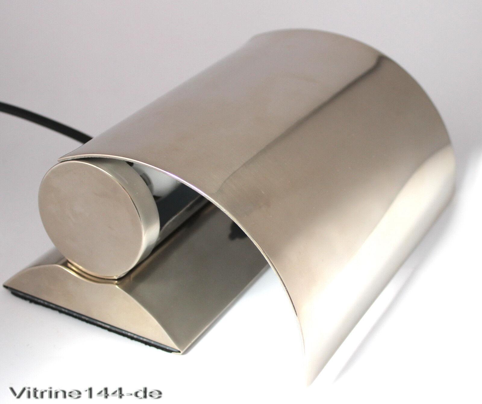 Lampe Silber : bauhaus design lampe tischleuchte wandleuchte silber matt ~ Pilothousefishingboats.com Haus und Dekorationen
