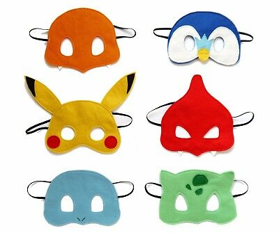 Pokemon mask costume Pickachu dinosaur monster boys girls turtle Birthday party - Turtle Dinosaur Costume