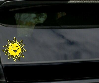 Home Decor Stores Usa Sun Vinyl Decal Car Bumper Tribal Sun Sticker Window Wall  Laptop SUV Summer 5