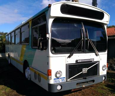 Volvo B58 Motorhome bus