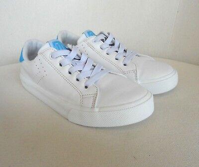 h&m 5th Sneaker Halbschuhe Gr 32 Jungs Mädchen Boys Girls slip on weiß hellblau
