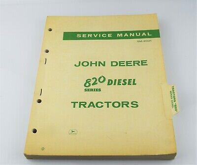 John Deere Sm-2021 Service Manual 820 Series Diesel Book