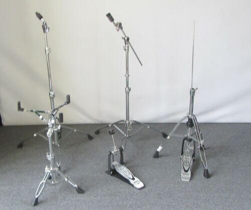 Pearl Drum Hardware set C-900 Cymbal H-900 Hi Hat P-900 Foot pedal 5pcs.