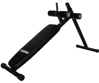New V2 Adjustable Ab Sit Up Bench, Long Frame Great for Core